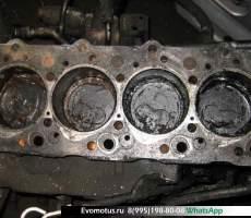 блок двигателя 4D56T на MITSUBISHI DELICA P35W (Мицубиси Делика )