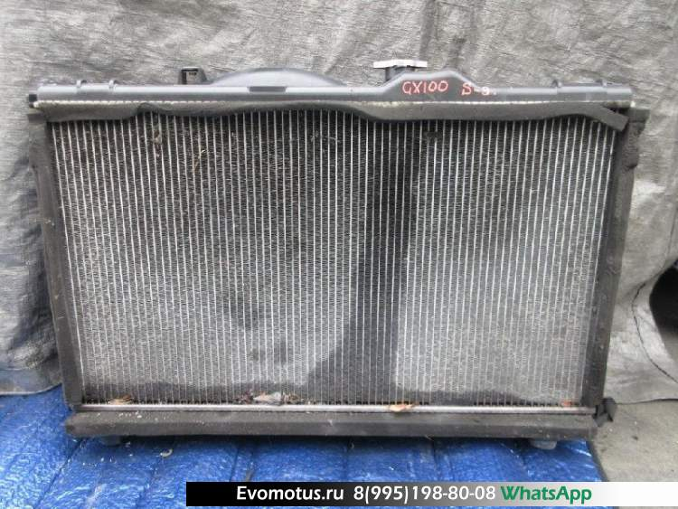 Радиатор двигателя  1G TOYOTA CHASER GX100  (Тойота Чайзер)