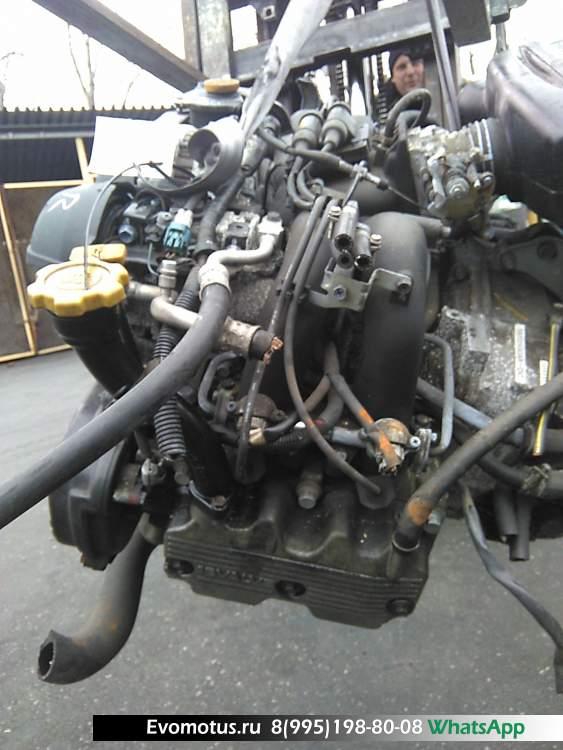 двигатель EJ20E на SUBARU LEGACY BP5 (субару легаси)