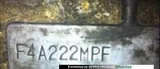 АКПП F4A222MPF на 6A11 Mitsubishi Galant E53A (Мицубиси Галант)