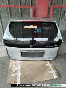Дверь пятая   MITSUBISHI  CHARIOT GRANDIS N94W (Мицубиси Шариот Грандис) серый col a69