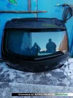 Дверь 5-я Mazda Axela BK5P  чёрный 16w
