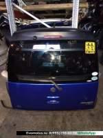 Дверь 5-я Suzuki Mr Wagon MF33S  синий