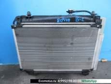 Радиатор двигателя  2SZ TOYOTA RACTIS SCP100  (Тойота Рактис )