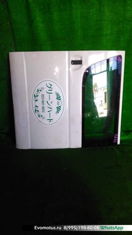 дверь на  TOYOTA HIACE KDH205 (Тойота Хайс) БЕЛЫЙ задняялевый