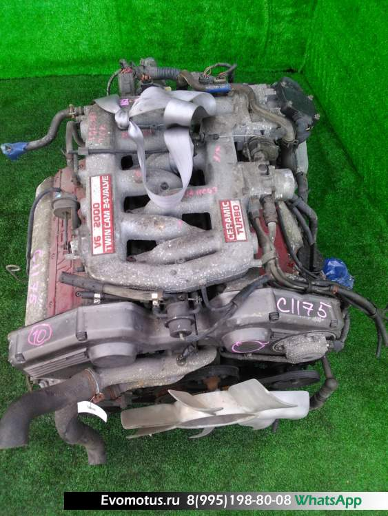 двигатель  VG20DET на NISSAN CEDRIC Y31 (Ниссан Цедрик)