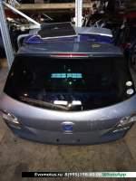 Дверь 5-я Mazda Atenza GHEFW  голубой