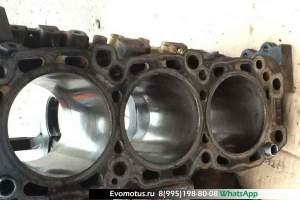 блок двигателя 6G74 на MITSUBISHI CHALLENGER K99W (Мицубиси Челенжер )