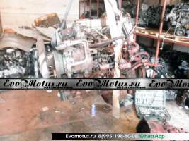 двигатель 4M40 на MITSUBISHI CANTER FB70AB (мицубиси кантер)
