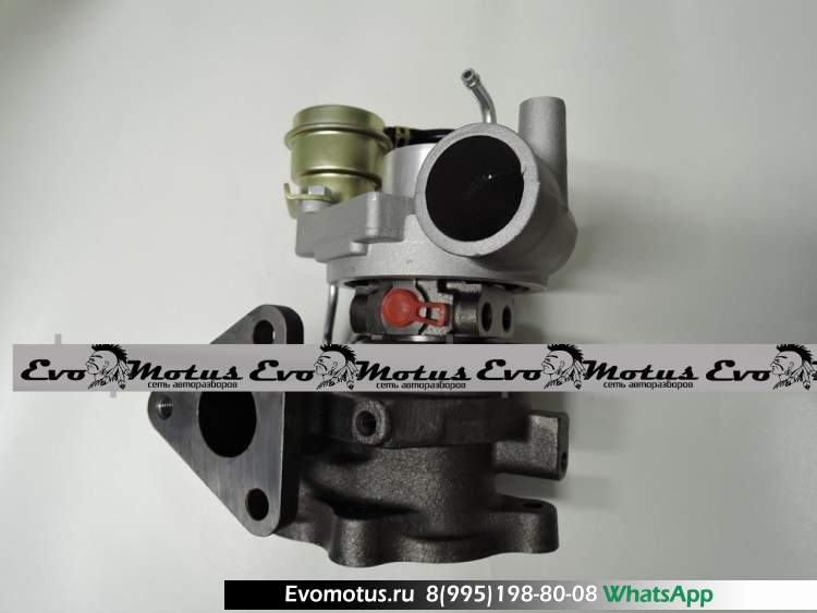 Турбина  на 4M40 MITSUBISHI  PAJERO V46W (Мицубиси Паджеро)  49135-03101, ME201677, ME202012, ME202435