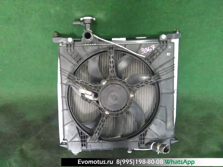 радиатор двигателя  hr12de NISSAN MARCH k13 (Ниссан Марч)