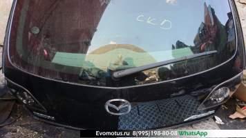 Дверь 5-я Mazda Axela BKEP   фиолетовый, 16w