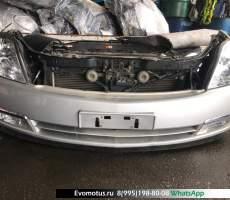 Ноускат Nissan Teana J31 VQ23DE  Серебро k23
