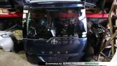 Дверь пятая   TOYOTA VOXY AZR65  (Тойота Вокси) синий