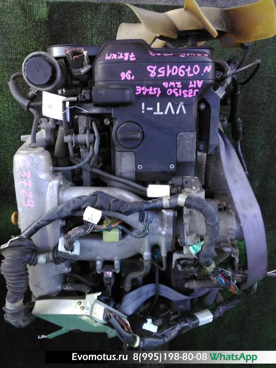двигатель на 1JZ-GE TOYOTA  CROWN JZS130 (Тойота Краун)