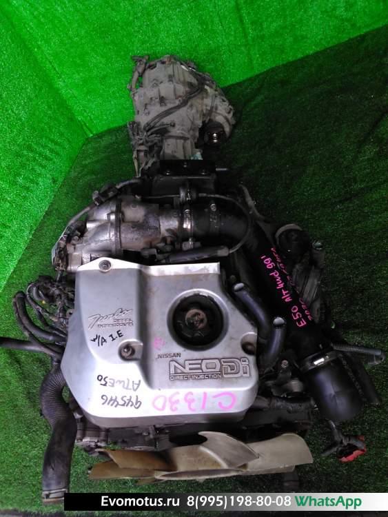двигатель  ZD30DDTI на NISSAN ELGRAND ATWE50 (Ниссан Эльгранд)