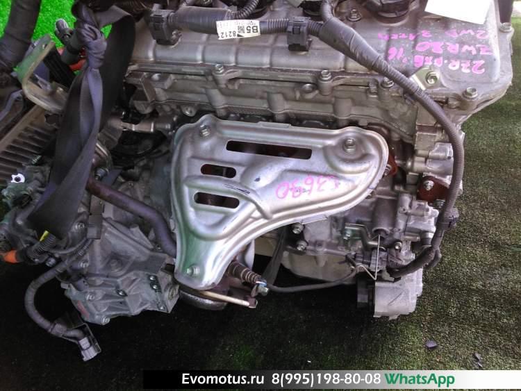 двигатель на 2ZR-FXE TOYOTA  VOXY ZWR80 (Тойота Вокси)