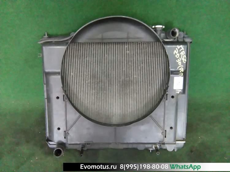 радиатор двигателя  zd30ddti NISSAN TERRANO r50 (Ниссан Террано)
