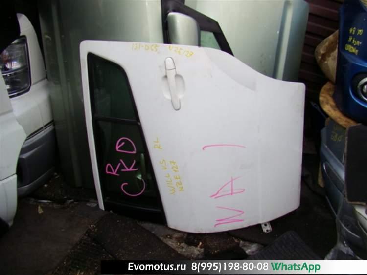 Дверь   TOYOTA WILL VS ZZE127  (Тойота Вилл Вс) белый Задн Лев