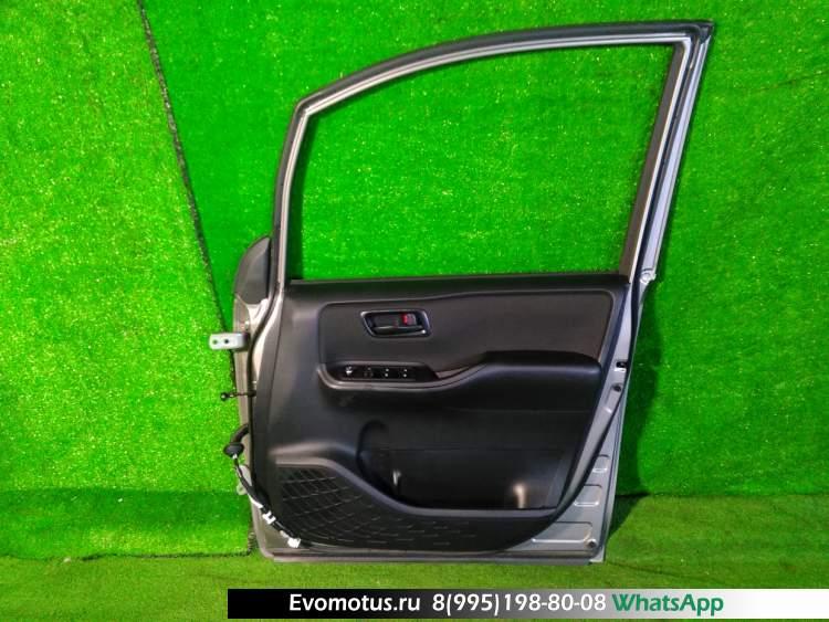 дверь на  TOYOTA  VOXY ZRR80 (Тойота Вокси) СЕРЫЙ заднийлевый