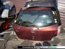 Дверь пятая   TOYOTA VITZ SCP90  (Тойота Витц ) бордовый