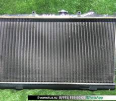 радиатор двигателя 4G13 на MITSUBISHI MIRAGE CJ1A  (Мицубиси Мираж)
