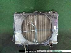 радиатор двигателя  na16s NISSAN DATSUN d21 (Ниссан Датсун)