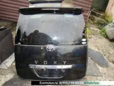 Дверь пятая   TOYOTA VOXY AZR65  (Тойота Вокси) черный