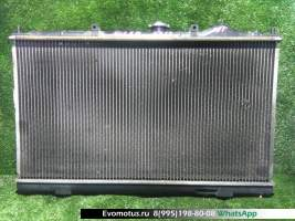 радиатор двигателя 4G13 на MITSUBISHI MIRAGE CJ4A  (Мицубиси Мираж)