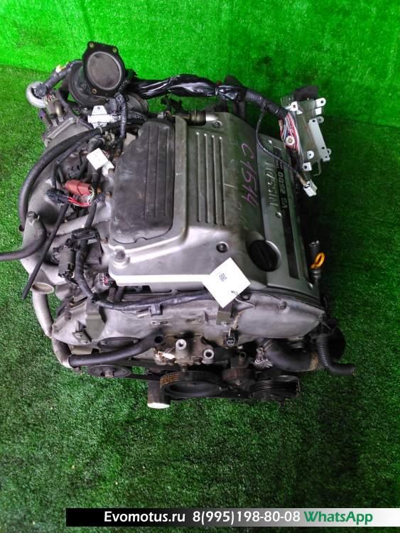 двигатель  VQ25DE на NISSAN CEFIRO PA32 (Ниссан Цефиро)