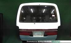 дверь пятая на 2rz-e TOYOTA HIACE rzh101 (Тойота Хайс) белый задняя