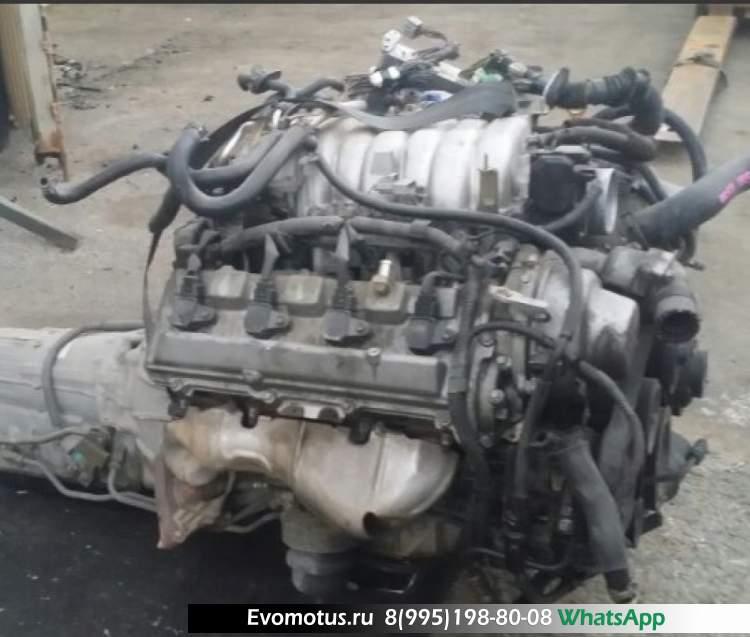 двигатель 3UZ-FE  на TOYOTA CELSIOR UCF31 (тойота сельсиор)