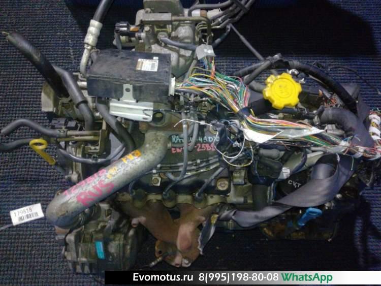 двигатель EN07 на SUBARU PLEO RA1 (субару плео)