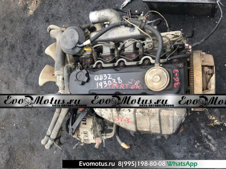 двигатель  QD32 на NISSAN ATLAS F4F23 (Ниссан Атлас)