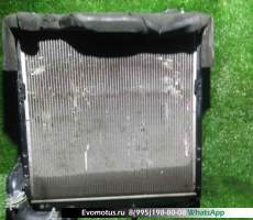 радиатор двигателя 4M50T на MITSUBISHI CANTER FE82D  (Мицубиси Кантер)