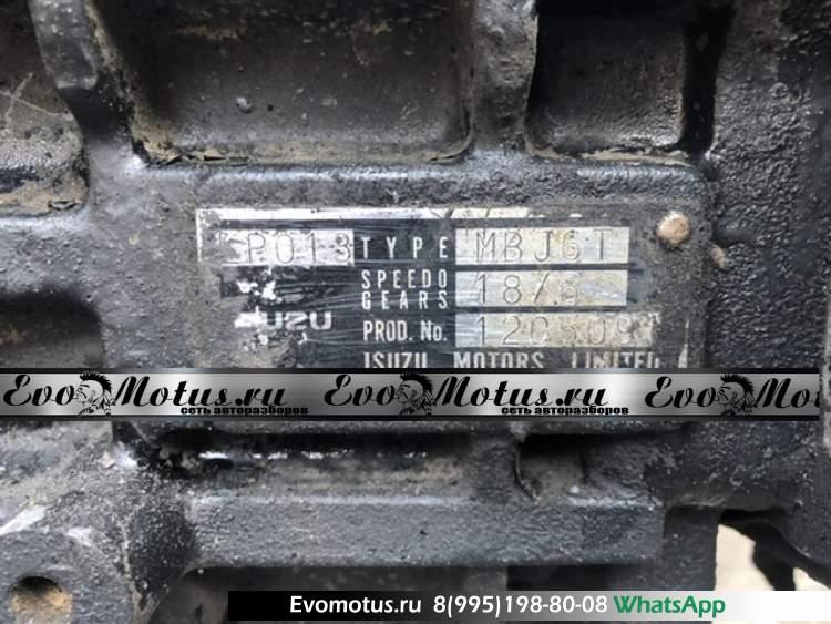 МКПП  MBJ6T на 6HH1  ISUZU FORWARD FSR33 ( исузу  форвард)