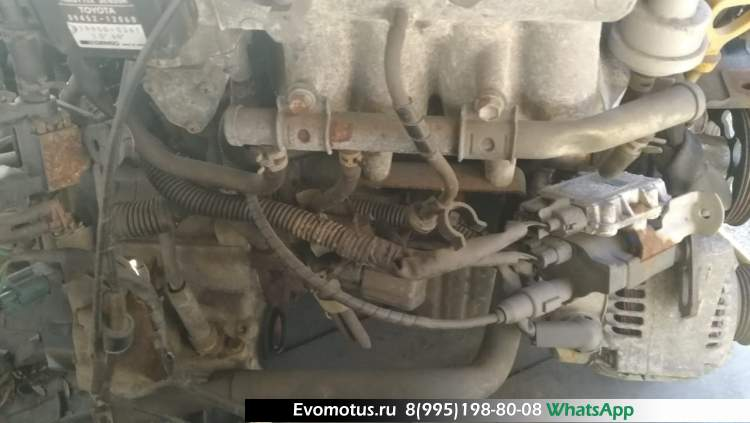двигатель на 4E-FTE TOYOTA  STARLET EP91 (Тойота Старлет)