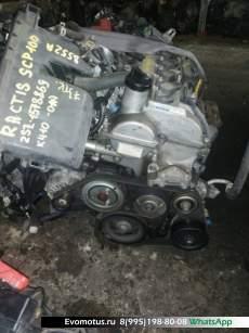 Двигатель 2SZFE TOYOTARACTIS Belta,, VITZ, Yaris SCP100 (Тойота Рактис  Бельта,, Витц , Yaris)