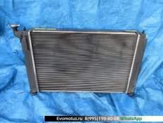 Радиатор двигателя  1AZ TOYOTA OPA ACT10  (Тойота Опа)