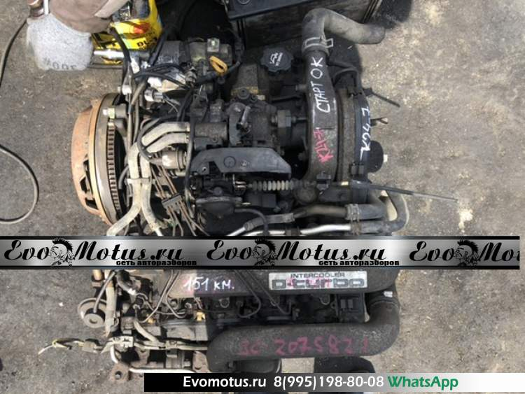 двигатель 3CT на TOYOTA ESTIMA EMINA CXR10 (Тойота Эстима Эмина) мех тнвд