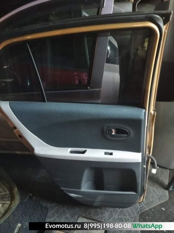 Дверь   TOYOTA VITZ KSP90  (Тойота Витц ) оранжевый Задн Лев