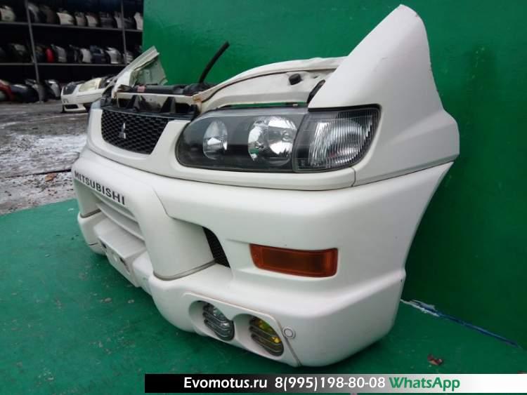 Ноускат  на  MITSUBISHI  DELICA PD6W (Мицубиси  Делика) белый W09
