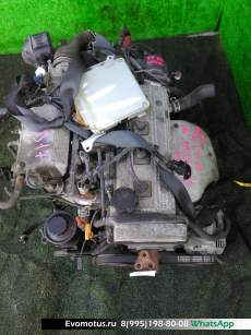 двигатель на 7A-FE TOYOTA  SPACIO AE115 (Тойота Спасио)