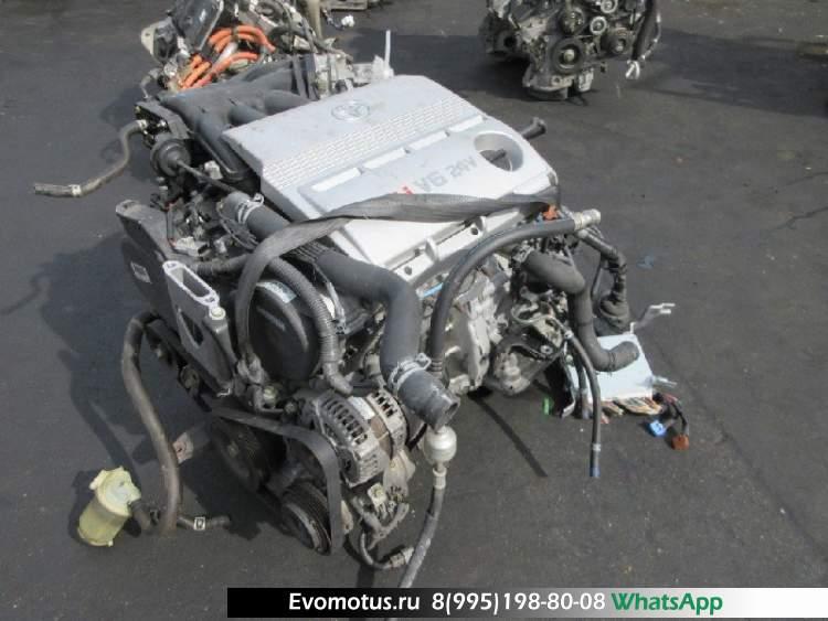 двигатель 1MZFE на TOYOTA HARRIER MCU30 (тойота харриер)