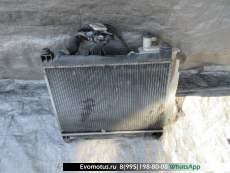 Радиатор двигателя  1nz TOYOTA PROBOX NCP58  (Тойота Пробокс)