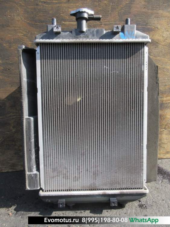 Радиатор двигателя  3SZ VE TOYOTA BB QNC21  (Тойота Бб)