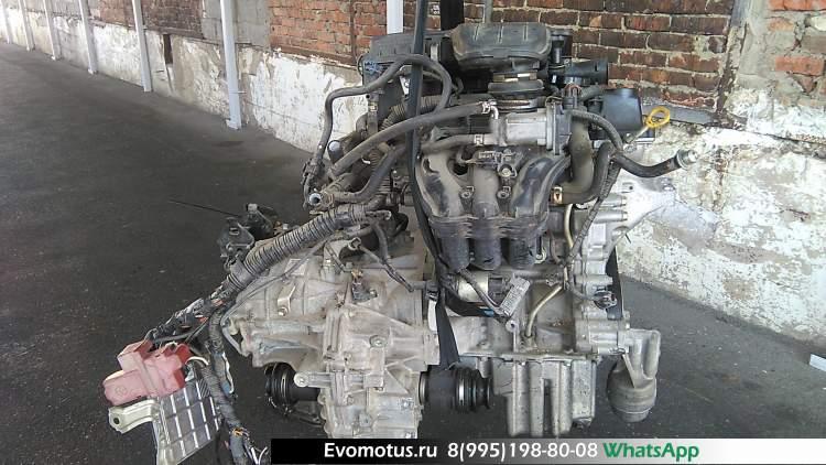 Двигатель 1KR TOYOTA YARIS KSP92 (Тойота Ярис)