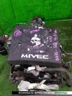 Двигатель  6G75 MITSUBISHI  PAJERO V87W (Мицубиси Паджеро)