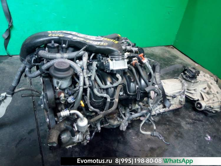 Двигатель 2TR на TOYOTA HIACE TRH221 (тойота хайс)