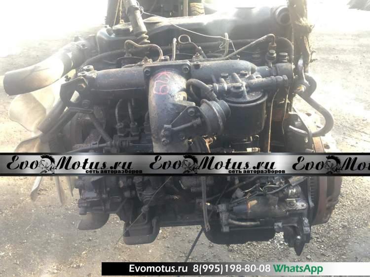 двигатель 4D34 на MITSUBISHI CANTER (мицубиси кантер)